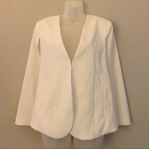 IRIS Los Angeles White Cape Blazer